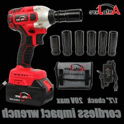 """1/2"""" Electric Impact Wrench Cordless brushless Drill li-ion"""