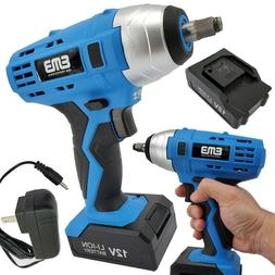 12V Max Brushed Powerful Cordless Impact Wrench Drive Tool L