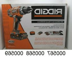 RIDGID 18-V Cordless 2-Speed 1/2 In. Compact Drill/Driver -