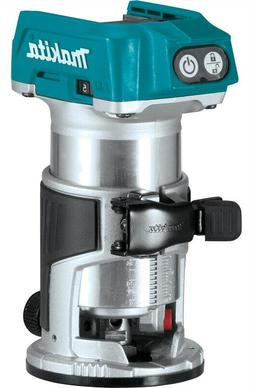 Makita 18V LXT Li-Ion Brushless Compact Router XTR01Z New