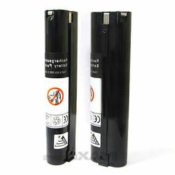 2 x 3.0AH Stick Style 9.6V 9.6 VOLT NI-MH 9000 Battery for M