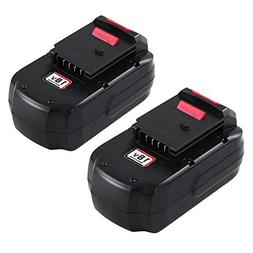 2Pack 18V 3.6Ah Replacement Battery for Porter Cable PC18B P