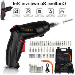 48IN1 Cordless Electric Screwdriver Rechargeable Drill Drive