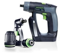 Festool 564274 CXS Compact Drill Driver Set With Right Angle