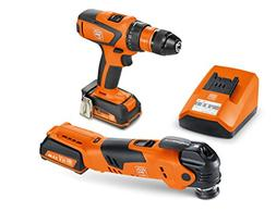 FEIN ASCM12/AFMT 12QSL Cordless Combo Drill/Driver and Starl