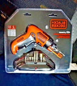 Black & Decker - Lithium Screwdriver with Screw Holder