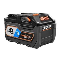 Ridgid 18V Bluetooth 9.0Ah Lithium-Ion Battery Starter Kit w