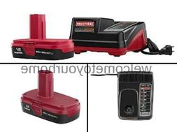 Craftsman C3 19.2-Volt Lithium-Ion Compact Battery & Charger