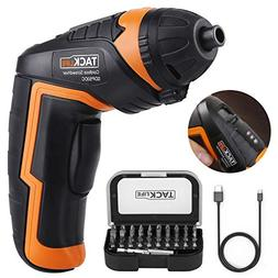 Cordless Screwdriver, Tacklife SDP50DC Electric Rechargeable