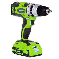 Greenworks 32032 24V Cordless Lithium-Ion DigiPro 2-Speed Co