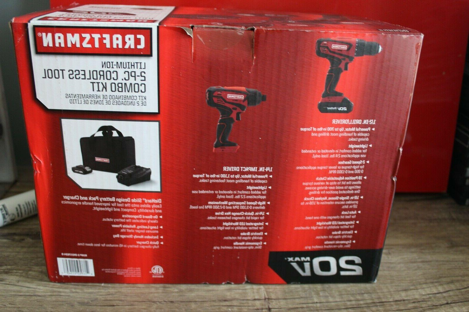 Craftsman Cordless Tool Combo BRAND NEW!