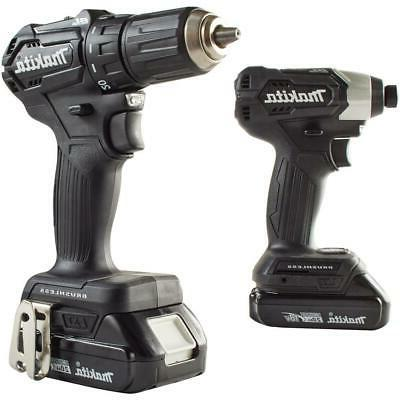 Makita Li-Ion Cordless Tools Combo Kit Impact Driver Reciprocating