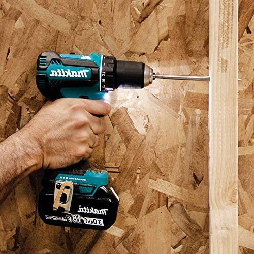 Makita 18V Lithium-Ion Driver-Drill Kit