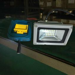 LED Light & Cordless Power Source Charge Adapter For MAKITA
