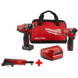 M12 FUEL 12-Volt Li-Ion Brushless Cordless Hammer Drill and