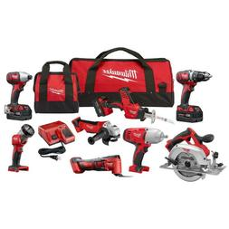 M18 18-Volt Lithium-Ion Cordless Combo Kit  with Three 4.0 A