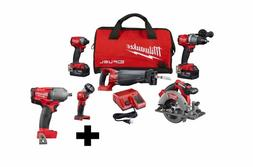 M18 FUEL 18-Volt Lithium-Ion Brushless Cordless Combo Kit 5-