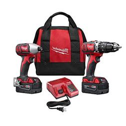 Milwaukee 2697-22 M18 18-Volt Lithium-Ion Cordless Hammer Dr