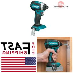 """Tool Only Makita Used XDT13 1//4/"""" Hex 18V Brushless Impact Driver uses BL1820"""