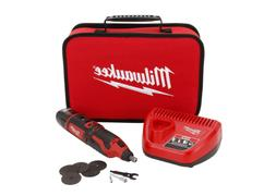 Milwaukee M12 Cordless Rotary Tool Kit 12 Volt Lithium-Ion D