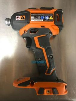 NEW RIDGID 18 VOLT COMPACT CORDLESS BRUSHLESS 3 SPEED IMPACT