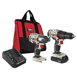 PORTER-CABLE PCCK604LA 20V Max Lithium Ion Cordless 2-Tool C
