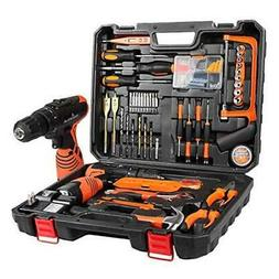 Power Tools Combo Kit With 16.8V Cordless Drill for 60 Acces