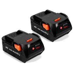 Aimaya Replacement Lithium Ion Battery 4.0Ah for RIDGID 18V