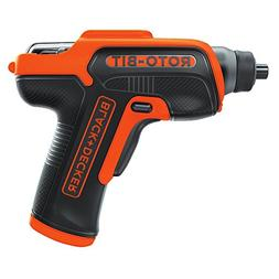 Black & Decker Roto-Bit 4V MAX Li-Ion Rechargeable Screwdriv