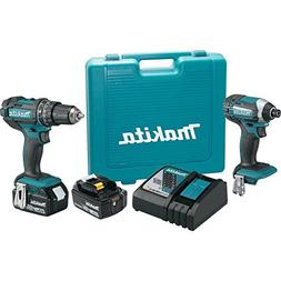 Makita XT261M LXT Lithium-Ion Impact and Hammer Drill Combo